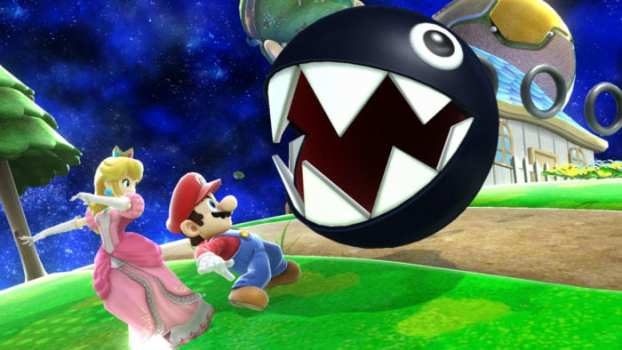 That time Mario unleashed a mad Chain Chomp into a peaceful park.