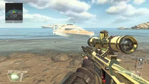 Looking at a Map - Call of Duty: Black Ops II