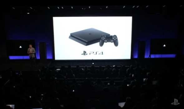PS4 Slim Officially Announced