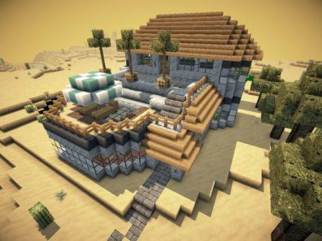 Modern Desert Mansion