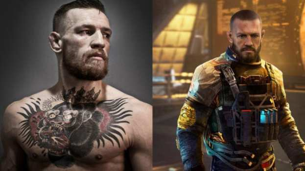 Conor McGregor - Captain Bradley Fillion