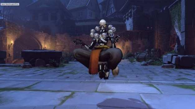Zenyatta - Skeleton