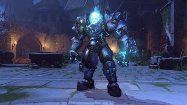 Reinhardt - Ghost in Armor