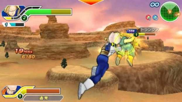 23. Dragon Ball Z: Tenkaichi Tag Team (PSP)
