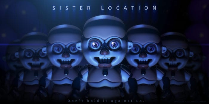 All Five Nights at Freddy's: Sister Location Easter Eggs