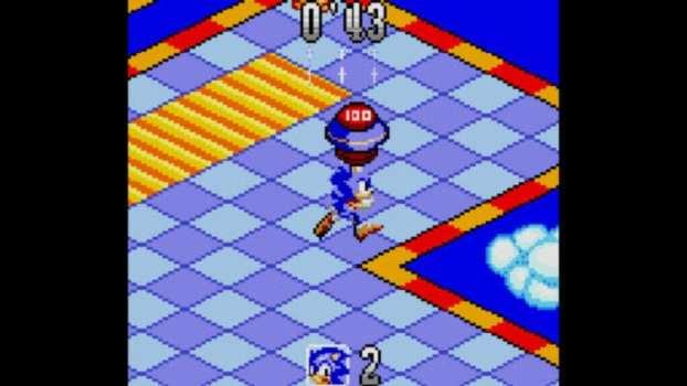 Sonic Labyrinth - Game Gear (1995)