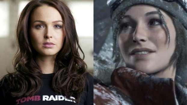 Camilla Luddington as Lara Croft