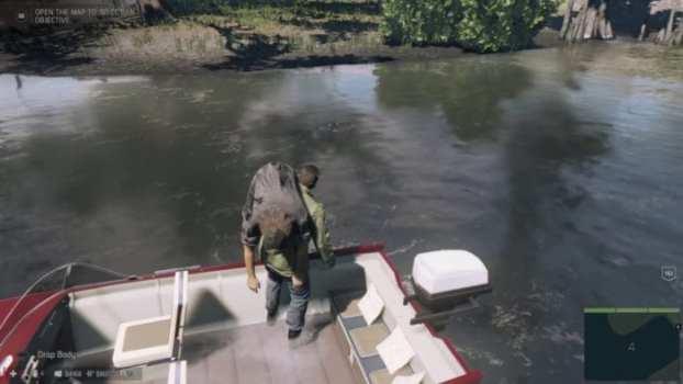 Feed enemies to alligators