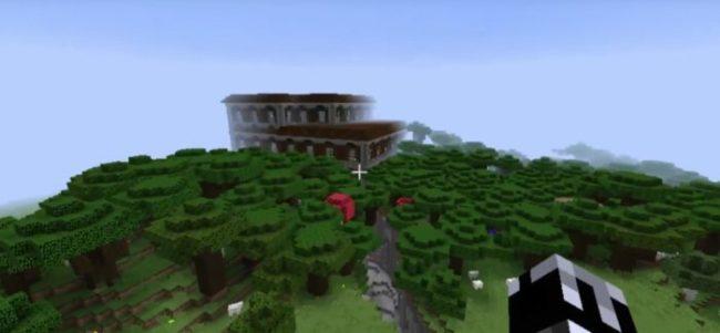 End Portal and Mooshroom Island