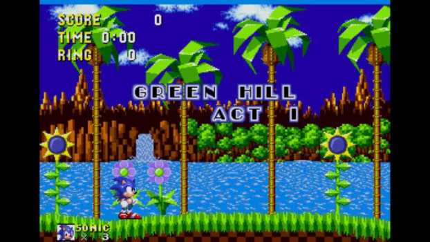 Sonic the Hedgehog - Sega Genesis (1991)