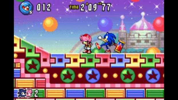 Sonic Advance 3 - Game Boy Advance (2004)
