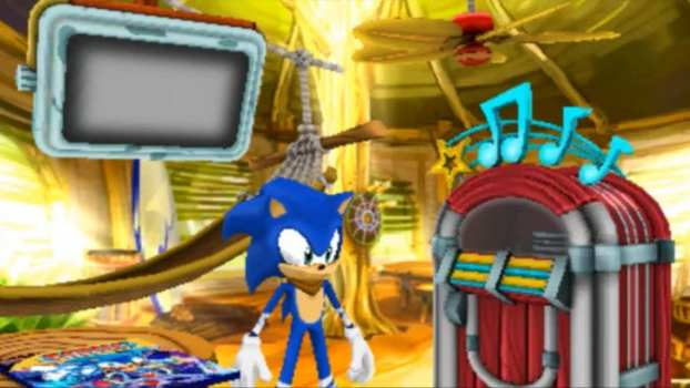 Sonic Boom: Shattered Crystal - Nintendo 3DS (2014)