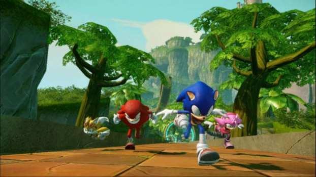 Sonic Boom: Rise of Lyric - Wii U (2014)