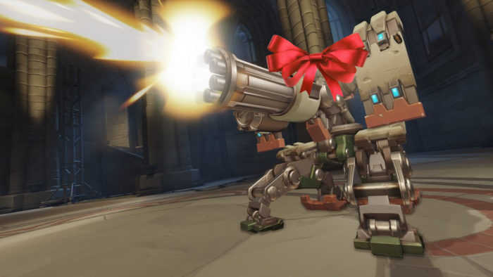 bastion, skin, overwatch, christmas, event