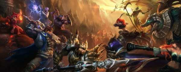 games like league of legends, most played