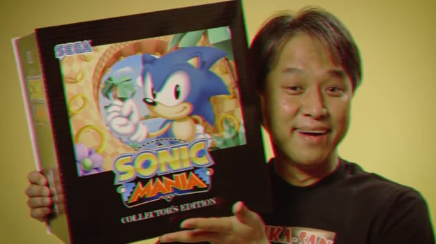 Sonic Mania Collector's Edition