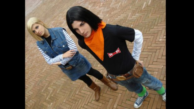 Android 17 and Android 18 - Dragon Ball Z