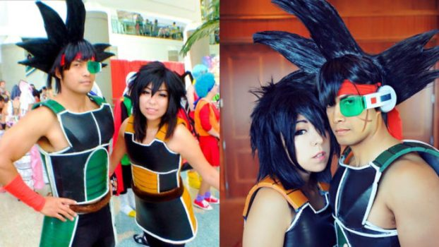 Bardock and Gine - Dragon Ball Z