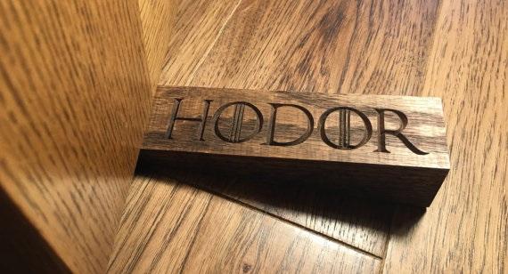 Hodor Door Stops