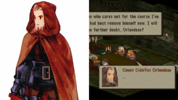 Final Fantasy Tactics - Cidolfus Orlandeau