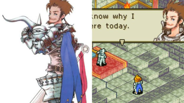 Final Fantasy Tactics Advance - Cid Randell