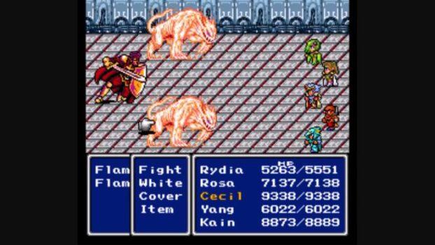 Final Fantasy IV (released as FF II in U.S.)