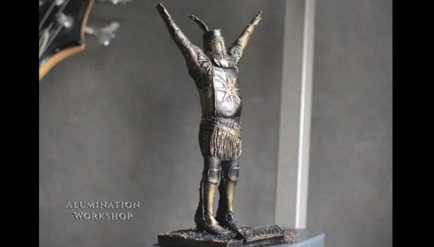Solaire Bronze Statue