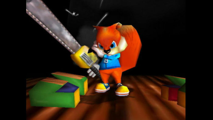 The Xbox One would make Conker even dirtier.