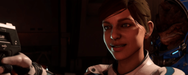 Mass Effect Andromeda Ryder facial animations