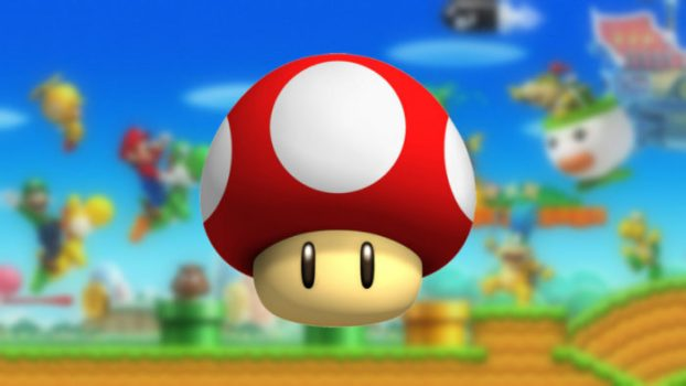 Mushrooms - Super Mario