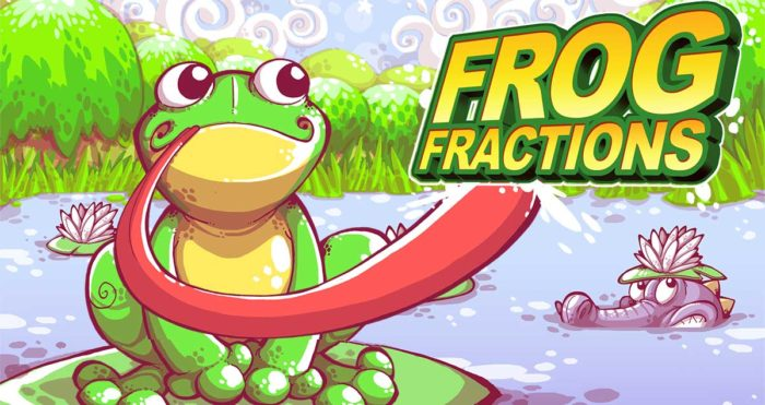 Frog Fractions, toyed
