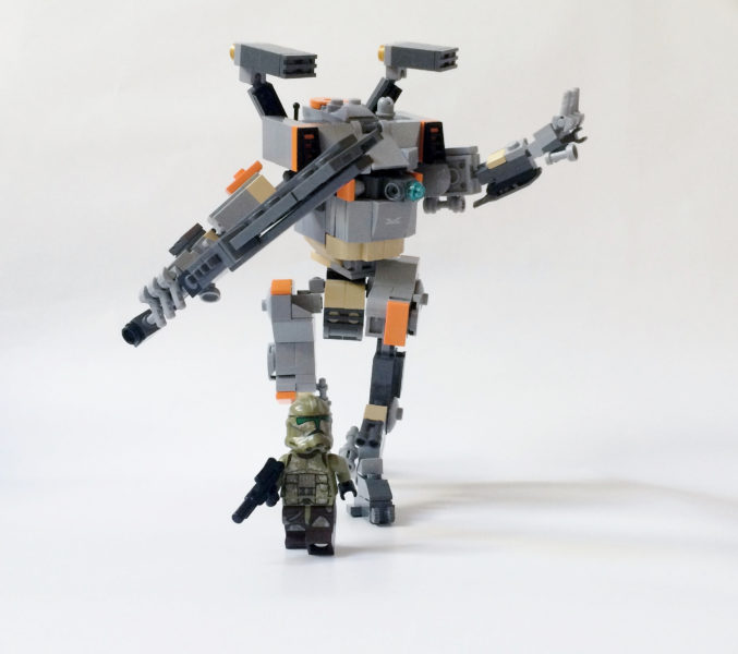lego, titanfall