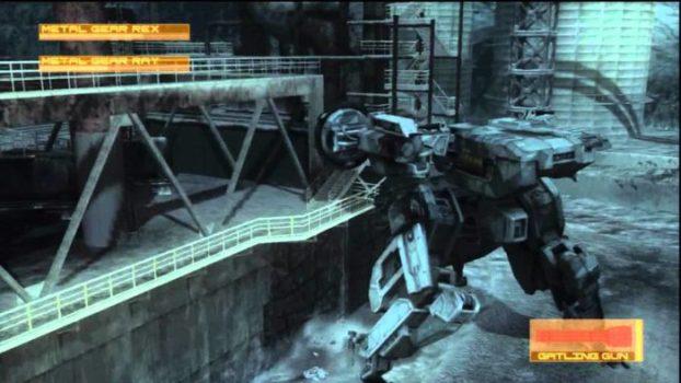 That Time You Finally Got To Fight Metal Gear vs Metal Gear