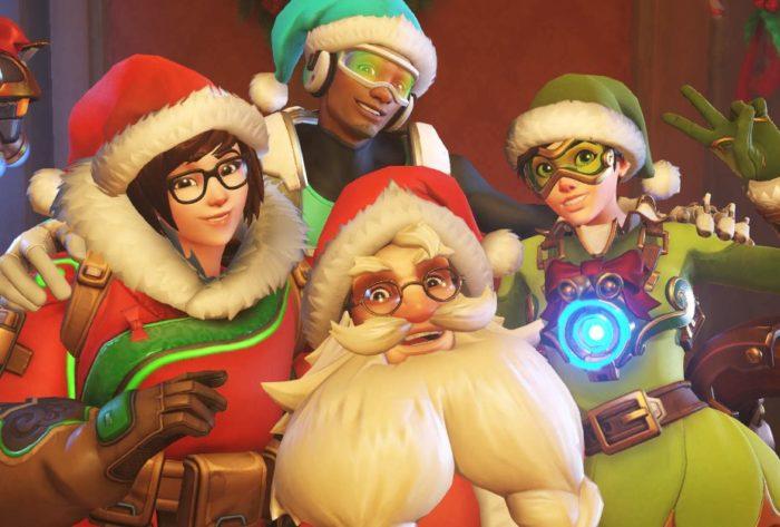 Overwatch Christmas Holiday Event