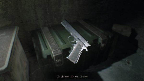 m19 pistol RESIDENT EVIL 7 biohazard_20170121143046