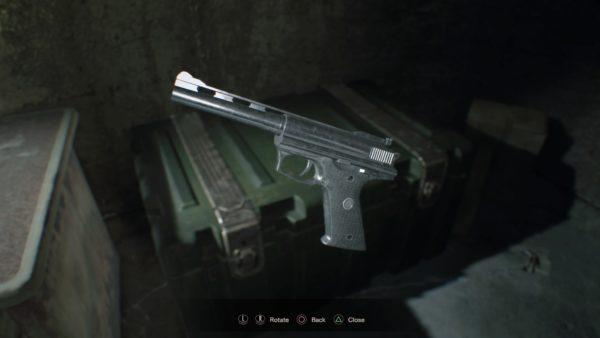 resident evil 7, weapons
