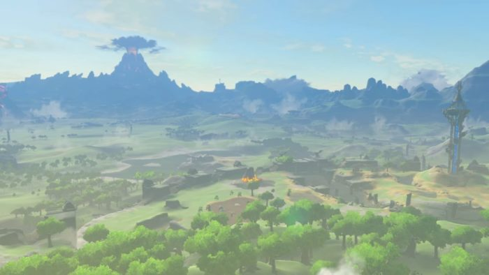 zelda, The Legend of Zelda Breath of the Wild Mt Doom
