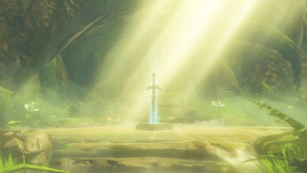 The Legend of Zelda Breath of the Wild Sword