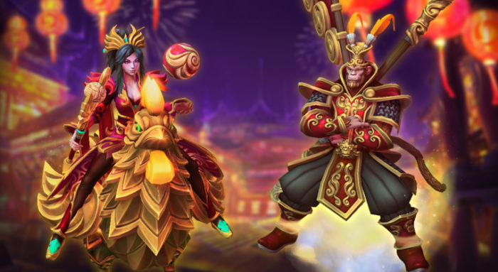 Lunar New Year Heroes of the Storm