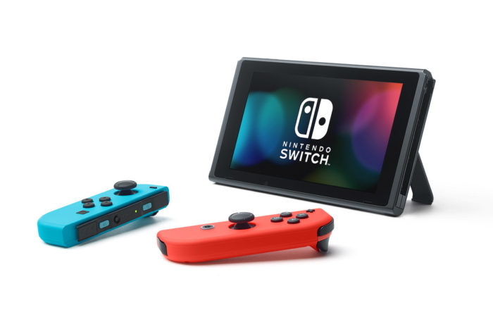Gaming Feature Nintendo Switch Neon