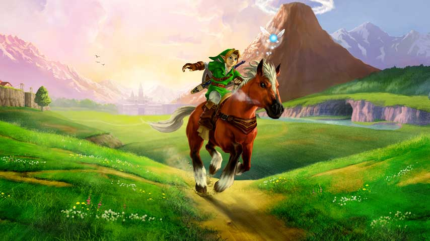Link in The Legend of Zelda Ocarina of Time