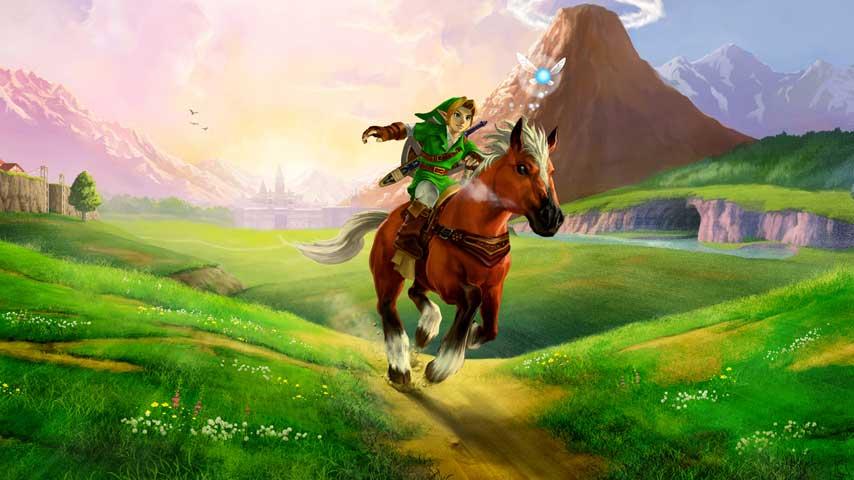 Link in The Legend of Zelda Ocarina of Time