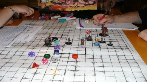 At the Table with Your Dungeons & Dragons Group