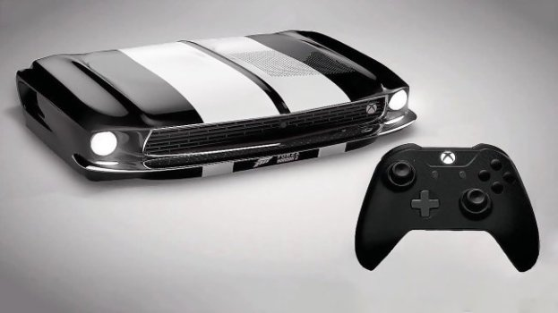 Ford Mustang Limited Edition Console