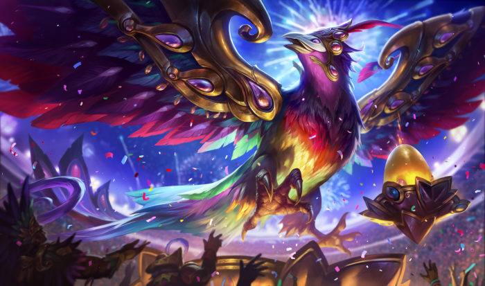 Festival Queen Anivia splash art