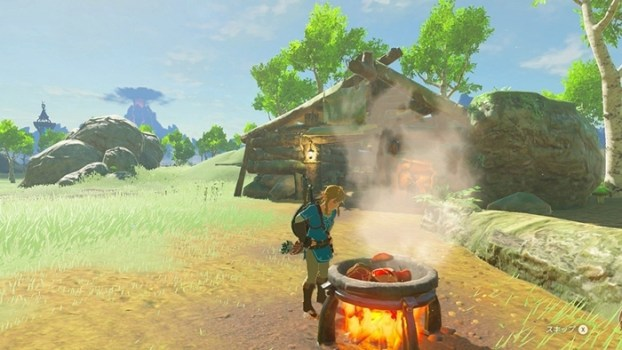 COOKING IS a Main INGREDIENT in SURVIVAL