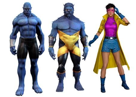 Marvel Heroes Beast Jubilee