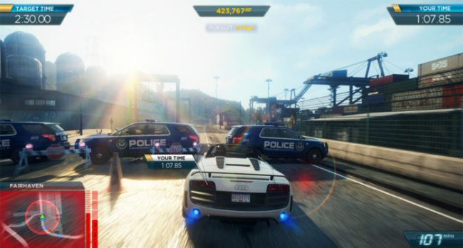 Need for Speed: Most Wanted U - 86
