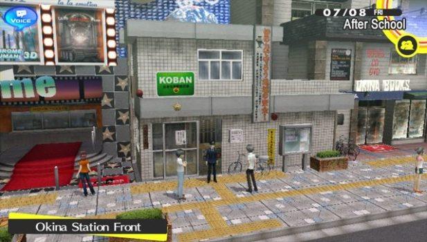 Okina City - Persona 4