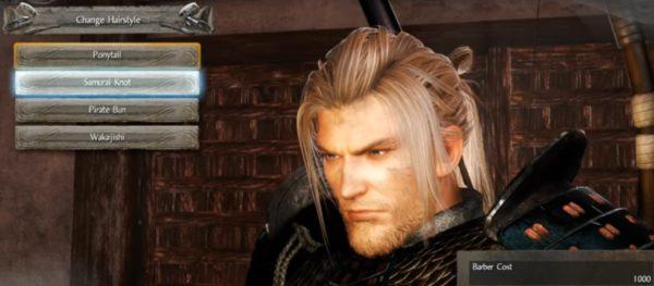 samurai knot hair nioh
